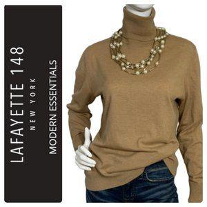 Lafayette 148 Fine Merino Wool Turtleneck - L